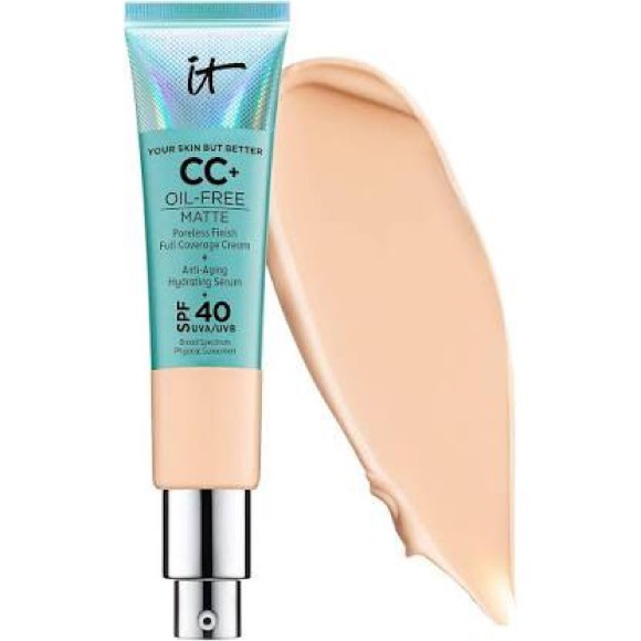 it cosmetics Other - CC+ Cream Oil-free Matte - Medium
